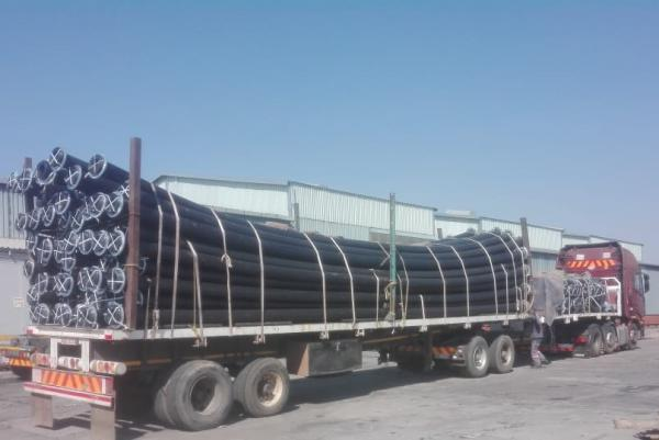 200mm x 12m PN20 PE100 HDPE pipe SFBE T1000/3 (SDR9)