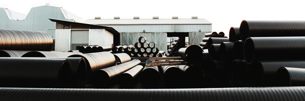 SPIRAL Structured Wall HDPE Pipe